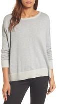 Eileen Fisher Women's Plait Detail Organic Cotton Boxy Top