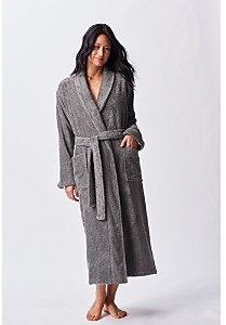 Coyuchi Unisex Cloud Loom Organic Cotton Robe
