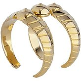 Bex Rox 24ct Yellow Gold Plated Sophia Cuff of 6cm