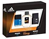 adidas Moves for Him Male Personal Care Men's Omni Eau de Toilette Spray Set, 3 Pc