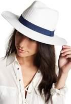 David & Young Solid Band Panama Hat