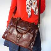 The Leather Store Mia Leather Satchel Bag
