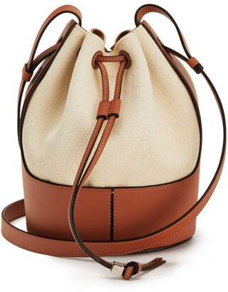 Loewe Small Canvas Balloon Bag