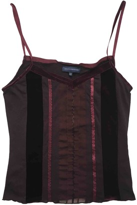 Adolfo Dominguez Red Top for Women Vintage
