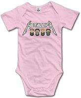 Unknown Baby Boys Girls Metallica James Hetfield Onesies Newborn Clothes