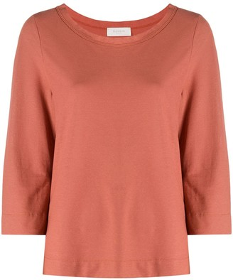 Zanone cropped sleeves T-shirt