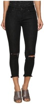 Free People Jeans Skinny Destroyed in Carbon