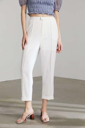 J.ING Stassy Bright White Trousers