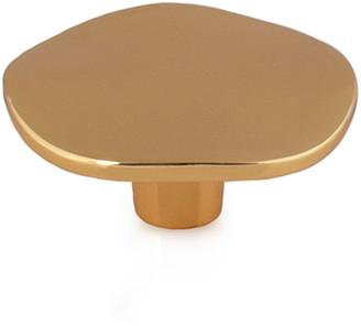 Michael Aram Ripple Small Knob - Golden