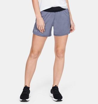 Under Armour Women's UA Launch SW ''Go Long'' Shorts