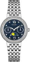 Bulova Women's Quartz Stainless Steel Dress Watch, Color: Silver-Toned (Model: 96R210)