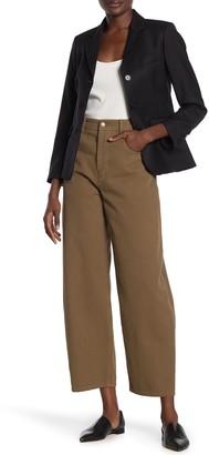 Nili Lotan Sam High Waist Wide Leg Jeans