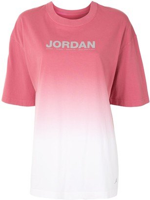 Nike gradient Jordan T-shirt