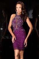 Scala Dress In Wine 48656