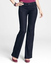 Ann Taylor Curvy Denim Trousers