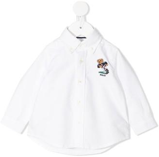 Ralph Lauren Kids Logo-Embroidered Button-Down Shirt
