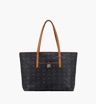 MCM Anya Top Zip Shopper In Visetos