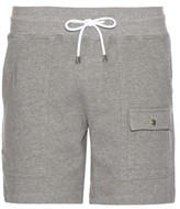 Michael Bastian Fleece-lined cotton-jersey shorts