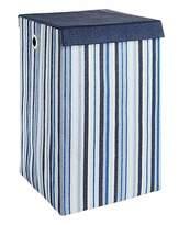 Fashion World Oslo Stripe Foldable Laundry Basket
