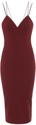 Alex Perry Exclusive to Mytheresa Valentine crepe midi dress