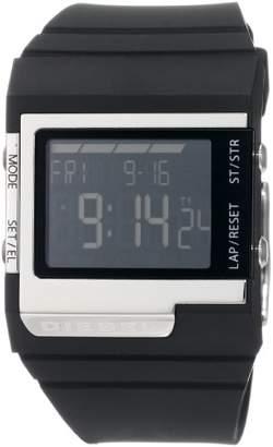 Diesel Men's DZ7130 Black Digital Black Dial Watch