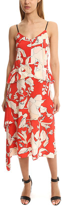 Derek Lam 10 Crosby Sleeveless Peplum Dress