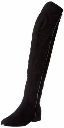 The Divine Factory Women QL3410 Boots Black Size: 6.5 UK