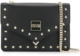 Versace studded shoulder bag