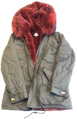 Ducie Green Faux fur Coat for Women