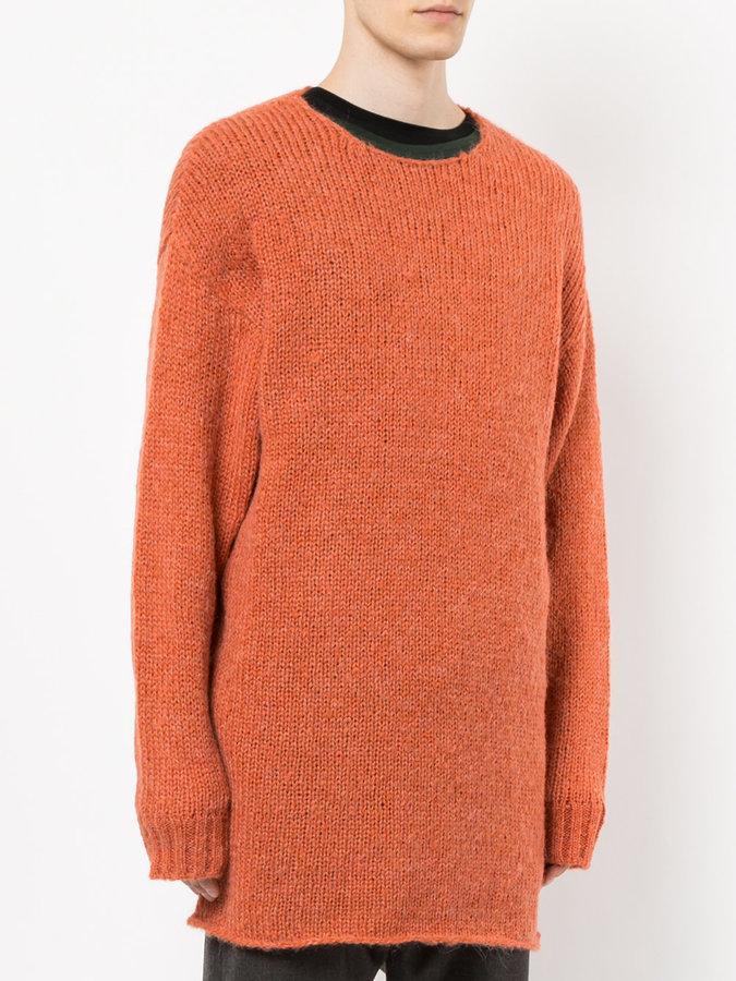 Undercover oversized jumper