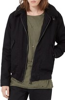 Topman Men's Denim Flight Jacket