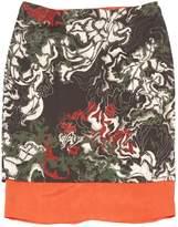 Cédric Charlier Green Wool Skirt for Women