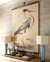 """Blue Heron"" Tapestry"