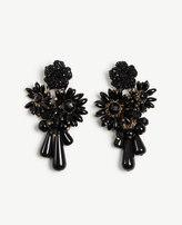 Ann Taylor Floral Stone Earrings