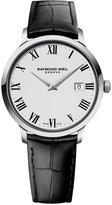 Raymond Weil Men's Swiss Toccata Black Leather Strap Watch 39mm 5488-STC-00300