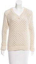 ADAM by Adam Lippes Merino Wool V-Neck Sweater