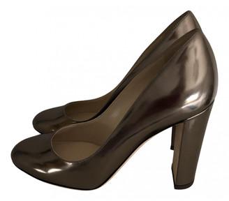 Jimmy Choo Metallic Leather Heels