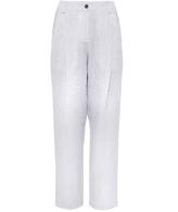 Crea Concept Stripey Linen Trousers