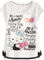 Hello Kitty Graphic-Print T-Shirt, Toddler & Little Girls (2T-6X)