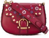 Marc Jacobs Navigator floral saddle bag - women - Calf Leather - One Size