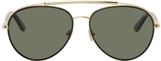 Tom Ford Gold Curtis Sunglasses