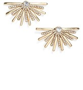 Jenny Packham Women's Light Up The Night Burst Stud Earrings