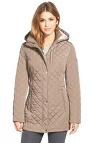 Calvin Klein Women's Hooded Quilted Jacket