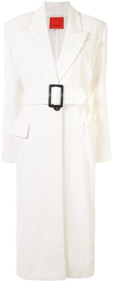 Manning Cartell Australia Ribbed Belted Long Coat