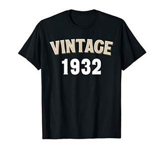 IDEA 88th Birthday Gift Vintage 1932 Gift Distressed T-Shirt