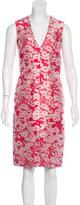 Stella McCartney Floral Print Sheath Dress