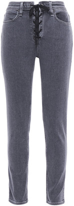 Rag & Bone Nina Lace-up High-rise Skinny Jeans