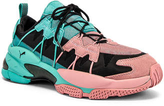 Puma Select LQD Cell Omega in Pink & Teal | FWRD