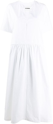 Jil Sander Long Smock Dress