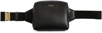 Dolce & Gabbana Logo Embossed Leather Belt Bag